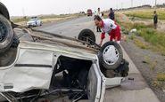 گردن مجری ورزشی در سانحه رانندگی آسیب دید+عکس