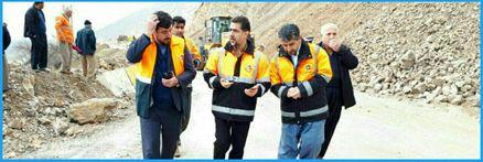 بازگشایی گردنه کنی زرد محور تازه آباد به شیخ صله