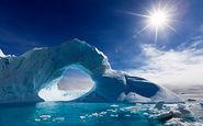 موقعیت خورشید در یک روز تابستانی قطبی + فیلم