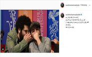 نوید محمدزاده به کارگردان نابغه تبریک گفت