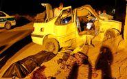 واژگونی پژو 5 کشته و مجروح بجا گذاشت