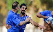 علی دشتی در باشگاه استقلال حاضر شد