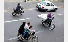 سهم موتورسواران در حوادث رانندگی در تهران