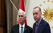 میدلایستآی: اردوغان و پنس بر سر آتشبس موقت در سوریه موافقت کردند
