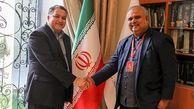 دیدار روسای 2 جشنواره بینالمللی با مدیرعامل فارابی