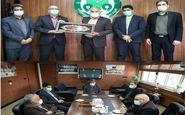 دیدار مدیرکل امور اجتماعی استانداری استان اصفهان با مدیرعامل باشگاه ذوبآهن