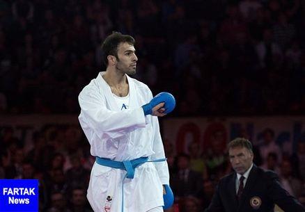 بهمن عسگری قهرمان کاراته جهان شد