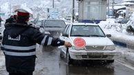 بارش برف و باران در محورهای 11 استان کشور