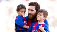 مسی: پسر دومم طرفدار رئال مادرید است
