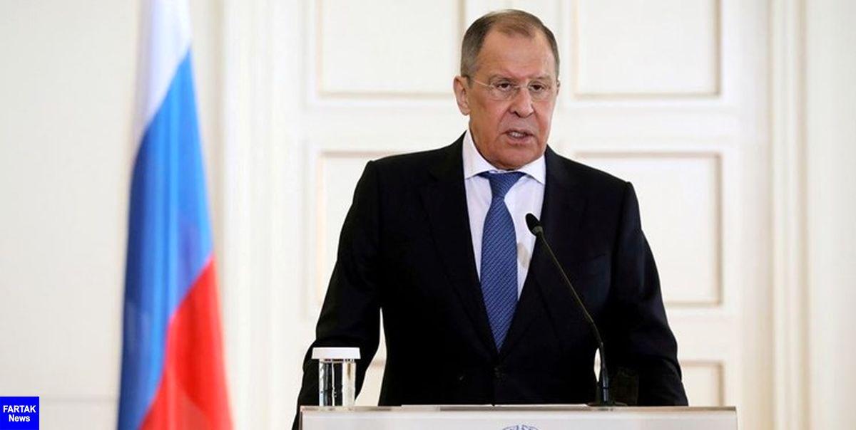 تأکید لاوروف بر پاسخگویی به تحریم جدید آمریکا در رابطه با ناوالنی