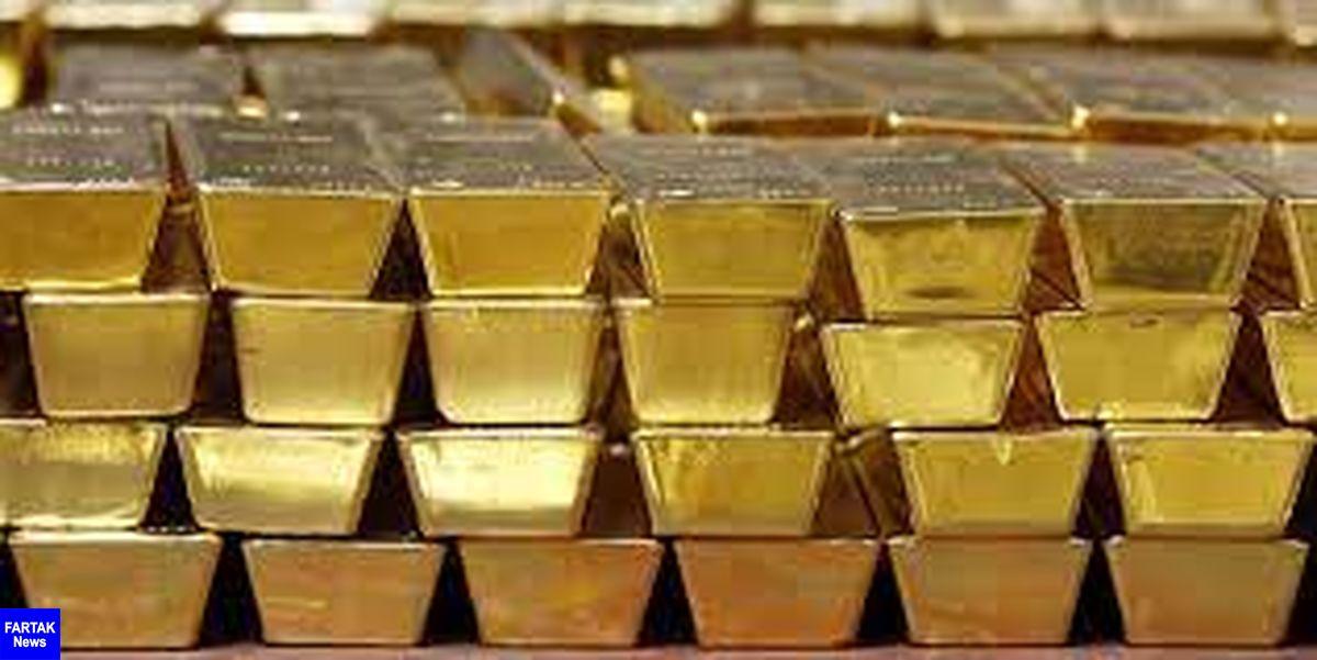 تضعیف ارزش دلار قیمت طلای جهانی را افزایش داد
