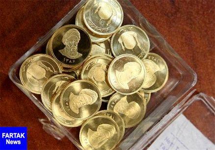 حباب قیمت سکه ۵۵۰ هزار تومان شد