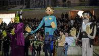 شادپیمایی عروسکها در سالن امام خمینی(ره) کرمانشاه به روایت تصویر