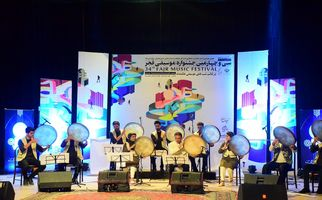 افتتاحیه سی و چهارمین جشنواره موسیقی فجر در همدان به روایت تصویر