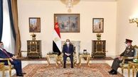 دیدار وزیر دفاع عراق با رئیسجمهور مصر