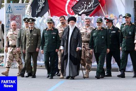 حضور فرمانده کل قوا در مراسم دانشآموختگی دانشجویان دانشگاه امام حسین (ع)