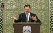 لحظه افت فشار خون بشار اسد در پارلمان جدید سوریه