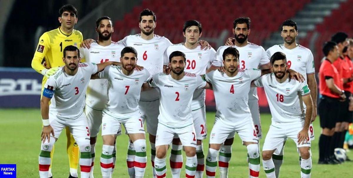 ترکیب تیم ملی فوتبال برای دیدار با عراق مشخص شد