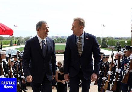 دیدار وزرای دفاع ترکیه و آمریکا در پنتاگون