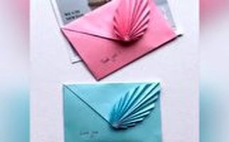 ساخت آسان پاکت نامه شیک با کاغذ A4