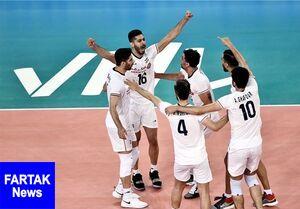 ترکیب والیبال ایران برای هفته دوم و برنامه بازیها