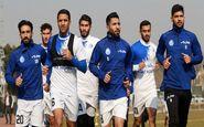 تمرین استقلال همچنان در کمپ تیم ملی