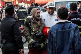 مصدومان حادثه پلاسکو با 187 نفر رسید/3 آتش نشان در بیمارستان بستری هستند