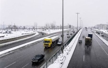 آخرین وضعیت جوی و ترافیکی محور های مواصلاتی کشور