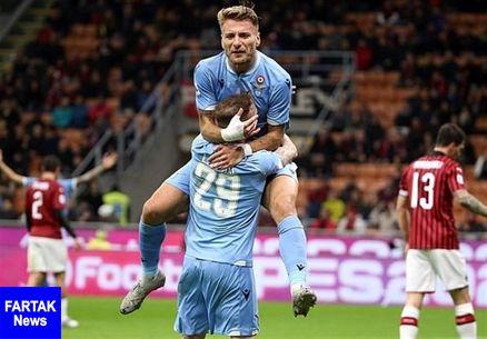 عنوان بهترین بازیکن سری A ایتالیا در ماه اکتبر به مهاجم لاتزیو رسید