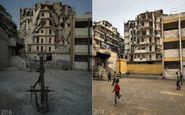بازگشت زندگی به حلب +عکس