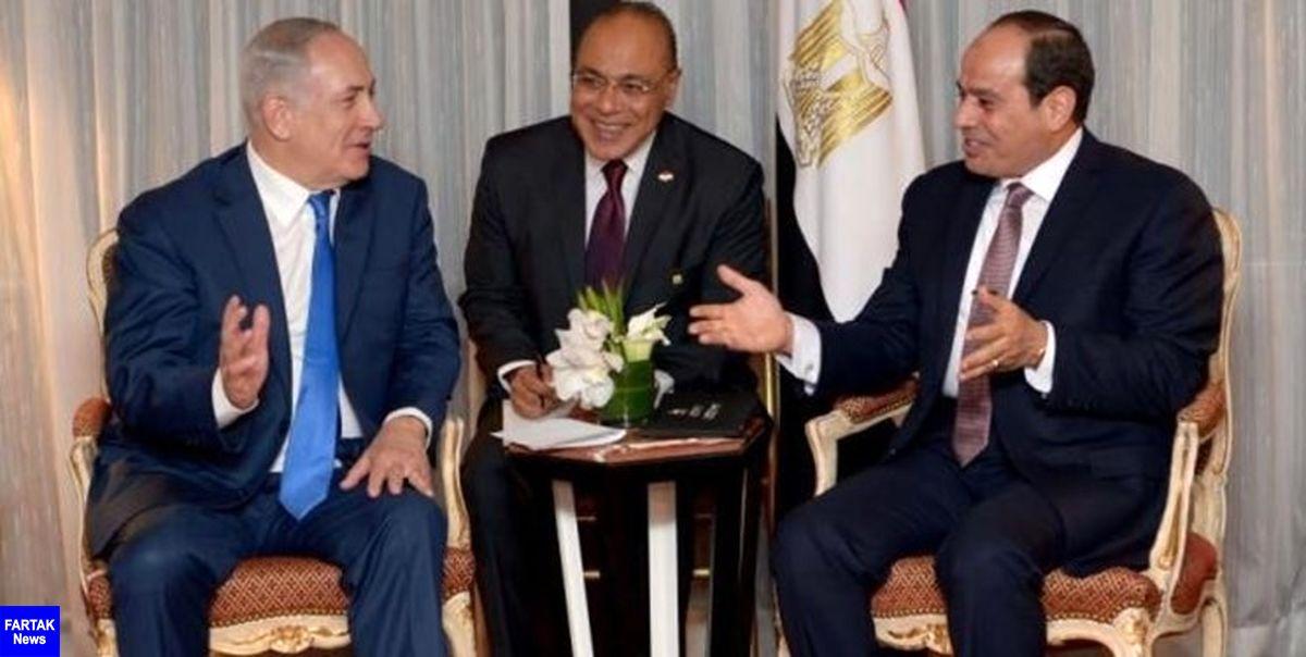 نتانیاهو به دیدار رئیسجمهور مصر می شود