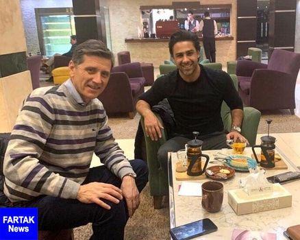 دستیار فرهاد مجیدی وارد ایران شد