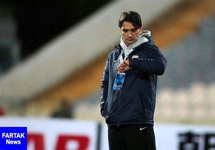 چرا سرمربی تیم فوتبال کرواسی تسبیح در دست دارد؟ + عکس