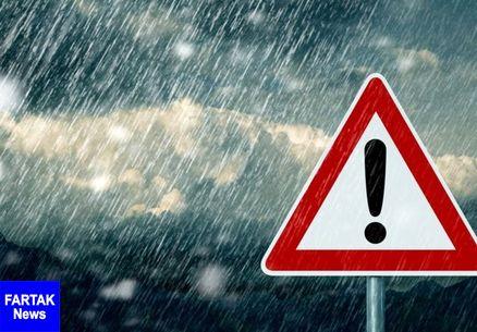 هشدار بارشهای سیل آسا در۲۳ استان/ پیش بینی بارش ۱۱۰ میلیمتری در برخی استانها