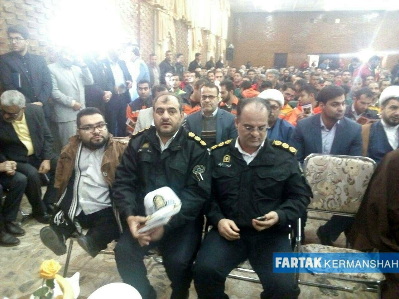مراسم تودیع و معارفه شهردار کرمانشاه به روایت تصویر