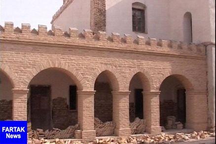 ساخت وساز غیرمجاز در حریم یک اثر تاریخی در زابل تخریب می شود