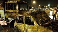 تصادف زنجیرهای در نجف آباد 4 کشته و مصدوم برجای گذاشت