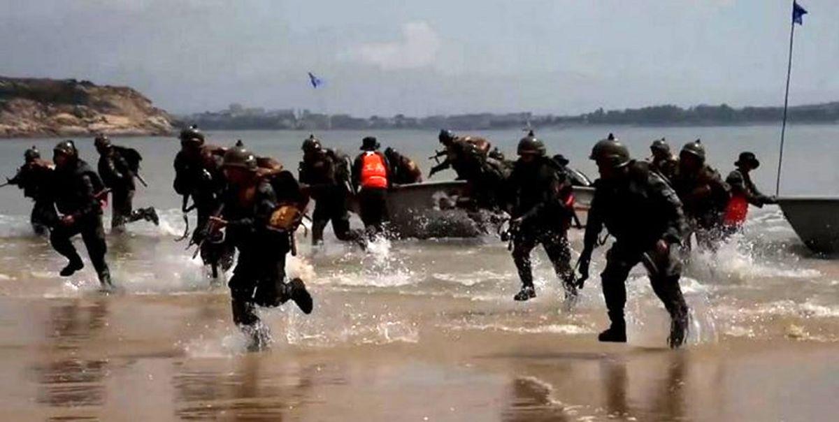 خط و نشان ارتش چین برای تایوان؛ گرفتن ساحل از دشمن فرضی