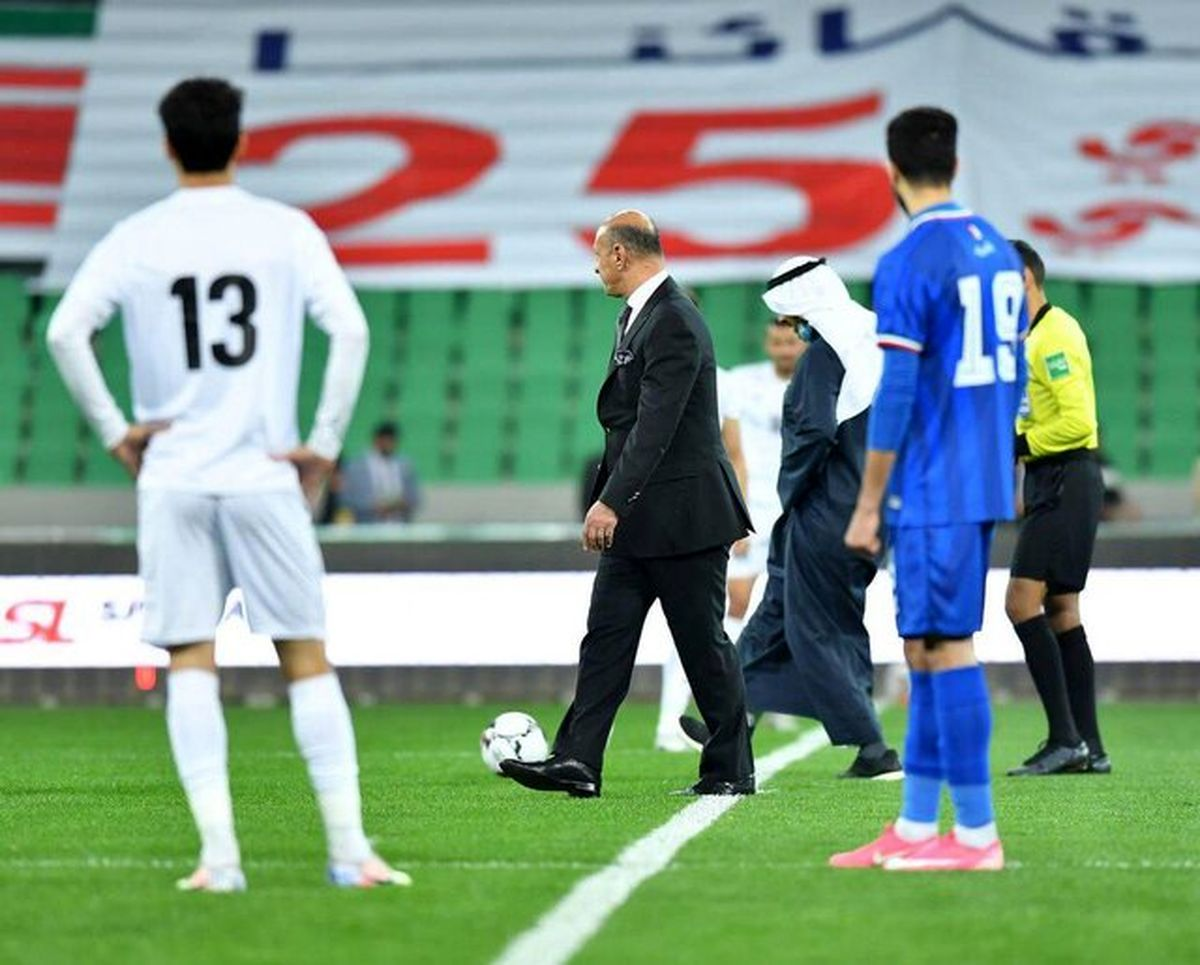 پیروزی تیم ملی فوتبال عراق برابر کویت