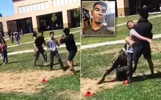 صحنه وحشتناکی که تفنگدار آمریکایی در یک دبیرستان رقم زد!