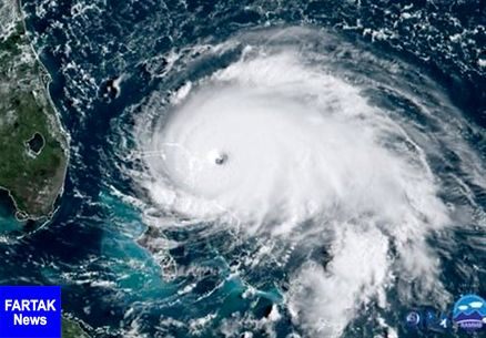طوفان دوریان در راه فلوریدا