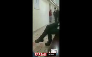 گریه کودک اسیر شده به دست نظامیان اسرائیل + فیلم