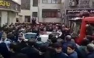 لحظه دستگیری سارق مسلح در رشت + فیلم