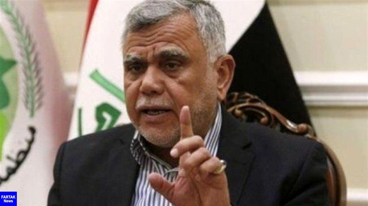 العامری: ثبات عراق در گرو خروج نظامیان آمریکایی است