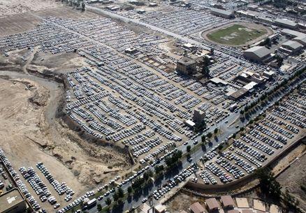 70 درصد ظرفیت پارکینگ مهران تکمیل شد