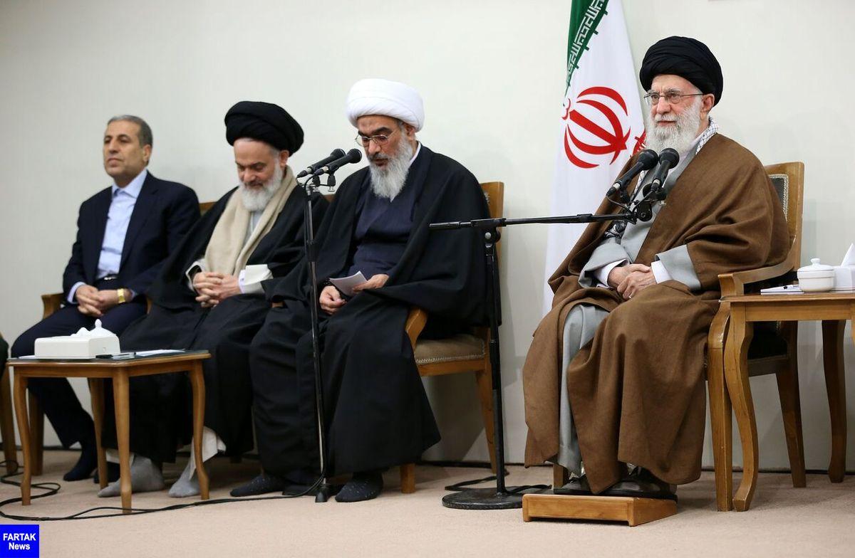 رهبر انقلاب: کاری کنید روحیه جهاد و مقاومت راه قطعی نسلهای پی در پی شود