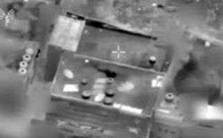 انفجار دفتر رهبر حماس با موشک اسرائیلی