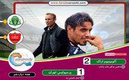 پرسپولیس به یحیی باخت/ اولین شکست سرخپوشان در لیگ