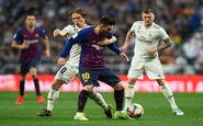اعلام ساعت بازی بارسلونا و رئال مادرید
