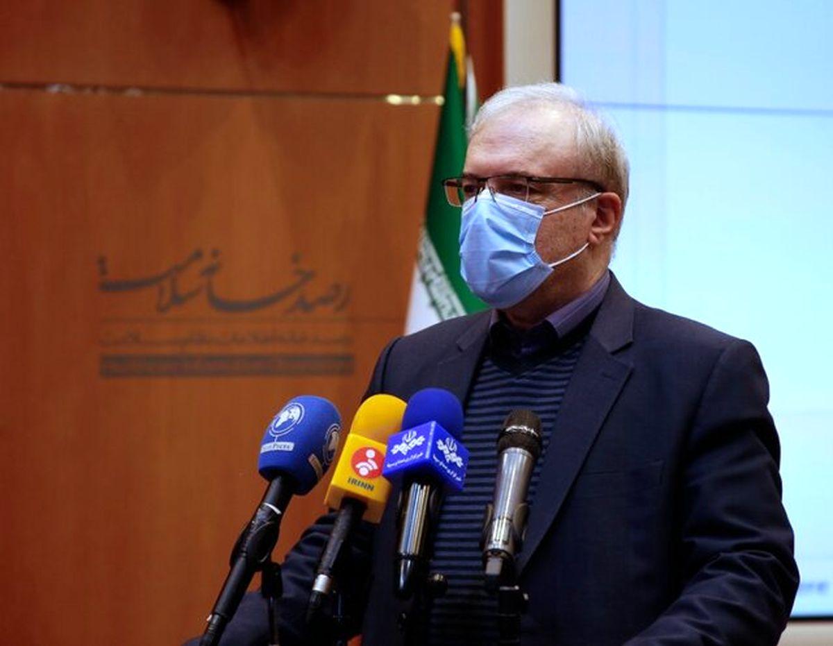 وزیر بهداشت:نگران بازگشت خیز بیماری هستیم